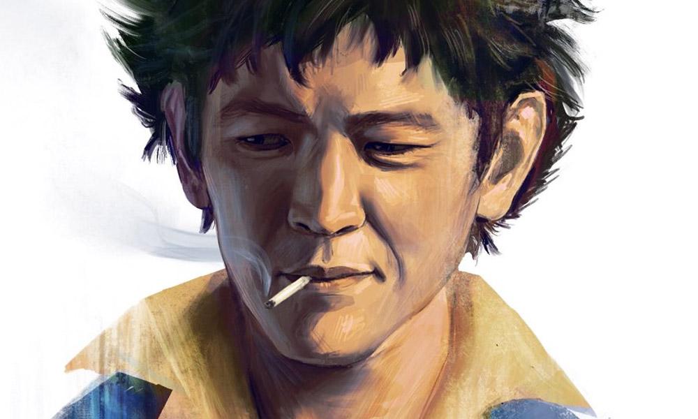 Cowboy Bebop | Fã cria ilustração de John Cho como Spike Spiegel