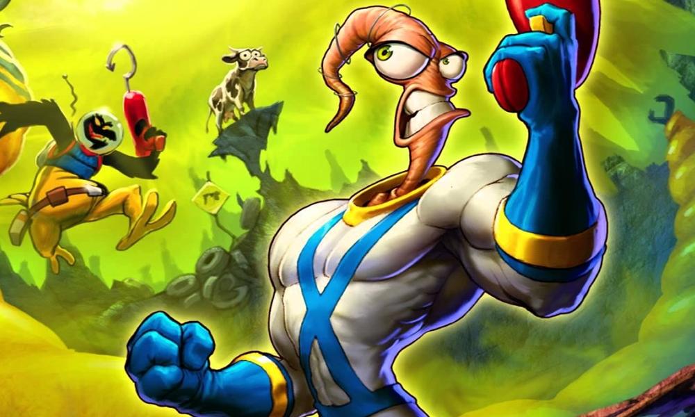 Earthworm Jim ganhará novo jogo em 2020. Saiba mais