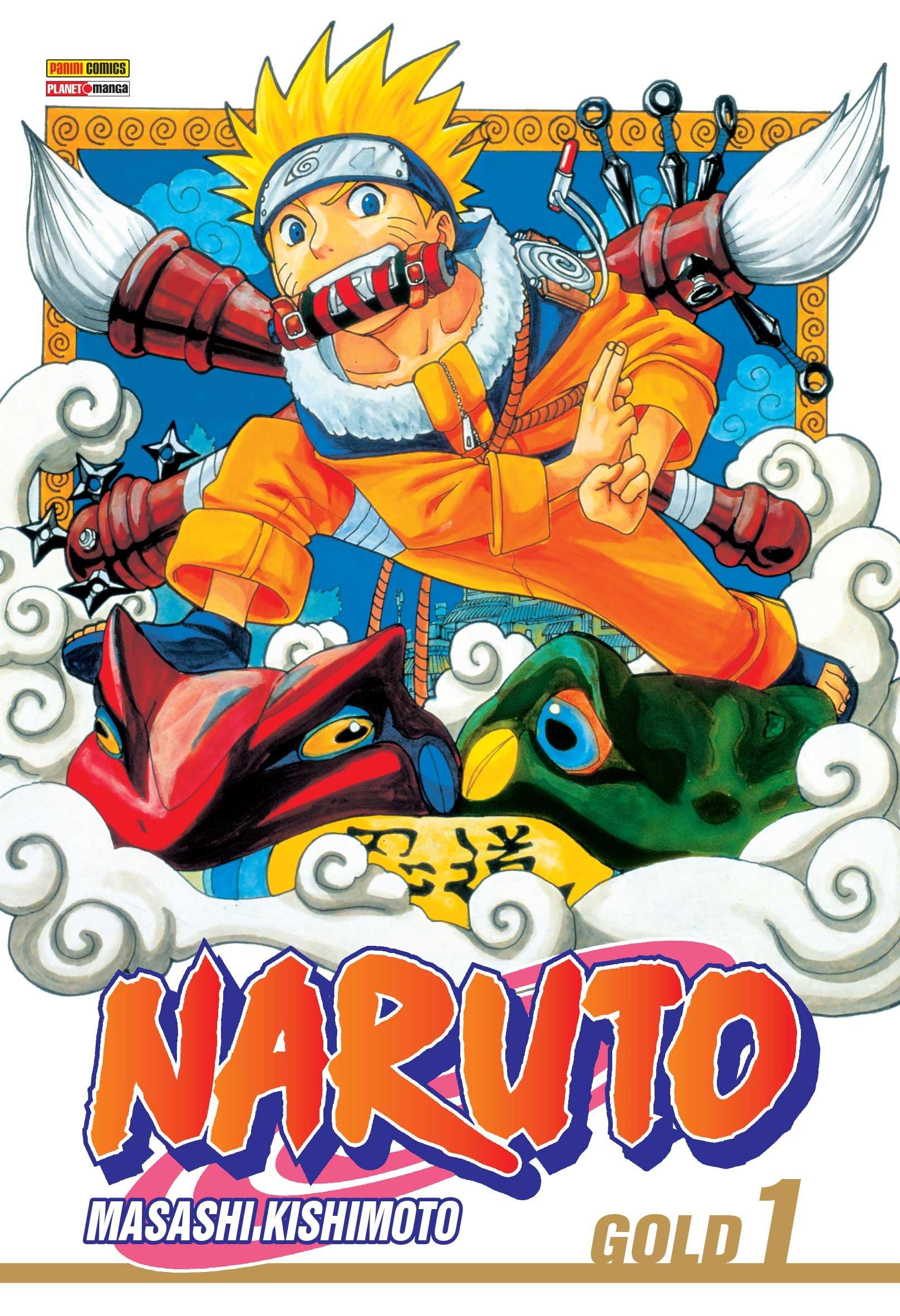 Mangá de Naruto será lançado em formato digital no Brasil