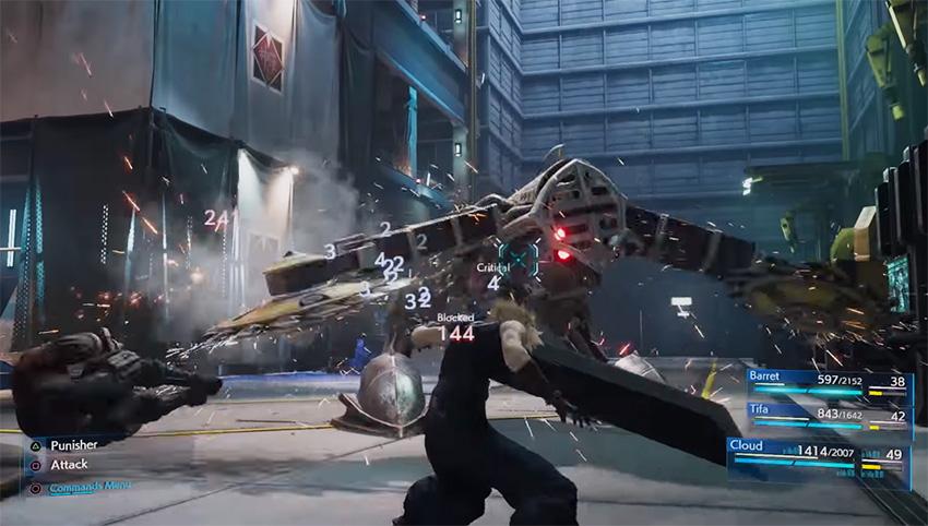 Final Fantasy VII Remake será lançado em episódios