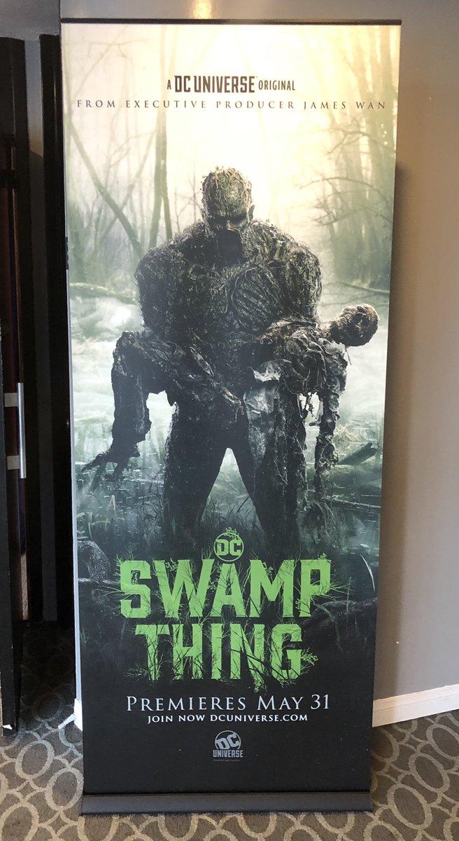 Monstro do Pântano. Novos posteres sinistros destacam o Monstro