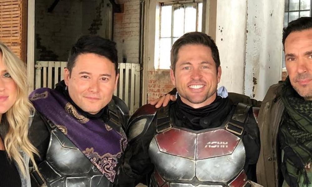 Atores de Power Rangers se reúnem para projeto misterioso