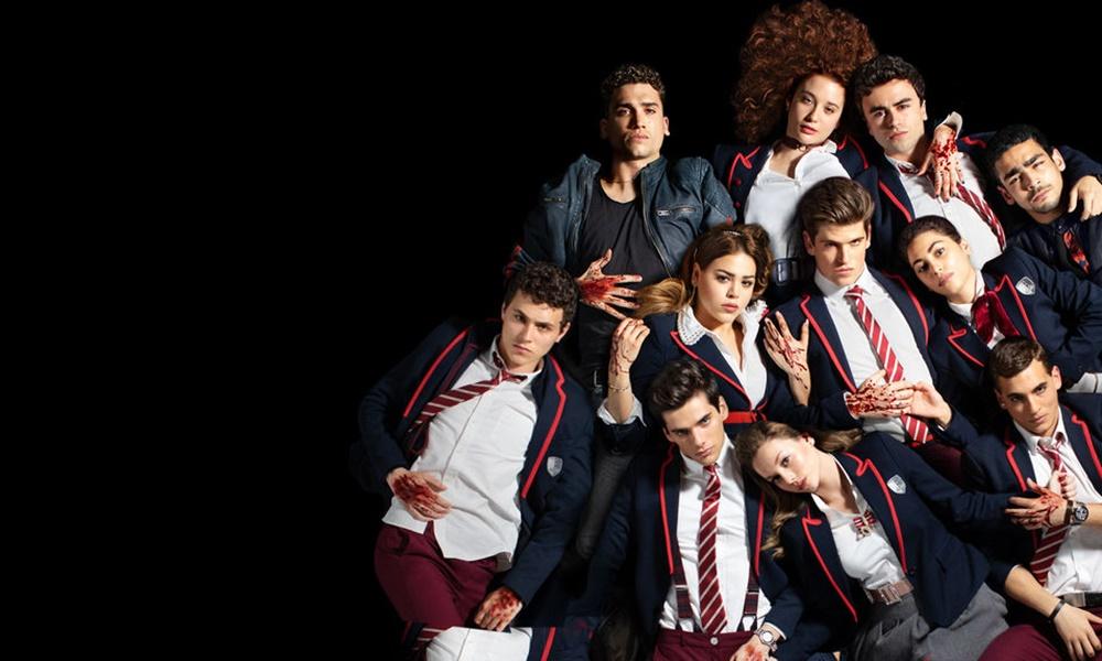 Elite Netflix divulga mês de estreia da segunda temporada