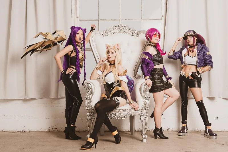 League of Legends   Grupo cosplay de K/DA arrasa em vídeo clipe