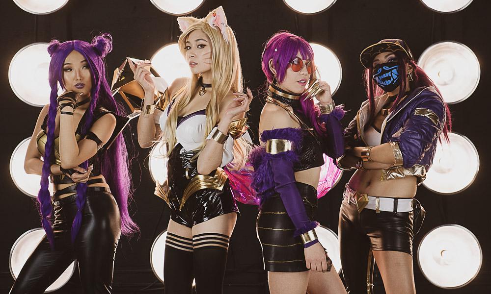 League of Legends | Grupo cosplay de K/DA arrasa em vídeo clipe