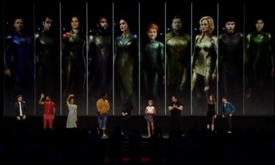 Os Eternos   Painel da Marvel na D23 traz o elenco da série