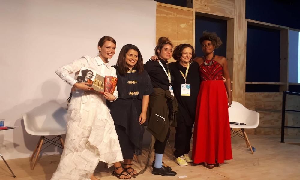 Escrita feminista   Bienal 2019 traz o tema a partir de Virginia Woolf