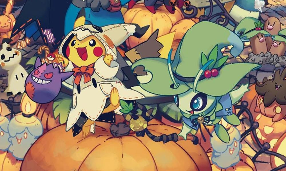 Festival de Halloween da Pokémon Center traz itens exclusivos