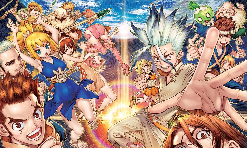 Dr. Stone | Confira o visual de Hyoga e Homura no anime