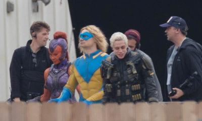 Esquadrão Suicida   Fotos dos bastidores mostram personagens com uniformes