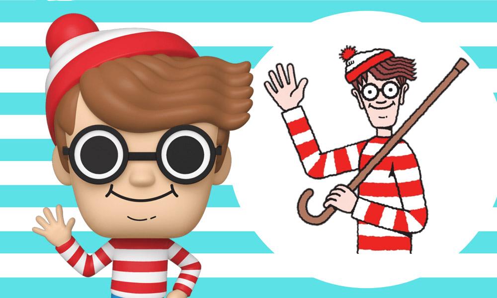 Onde Está Wally? | Personagem icônico ganha sua versão Funko POP!
