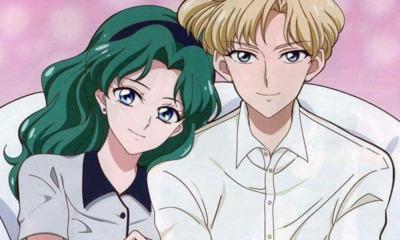 Sailor Moon | Amor entre Haruka e Michiru é finalmente oficializado