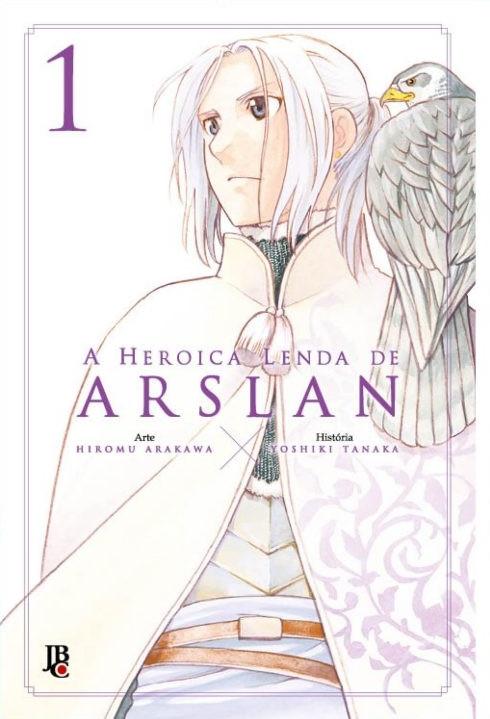 A Heroica Lenda de Arslan | Confira os detalhes do novo lançamento da JBC