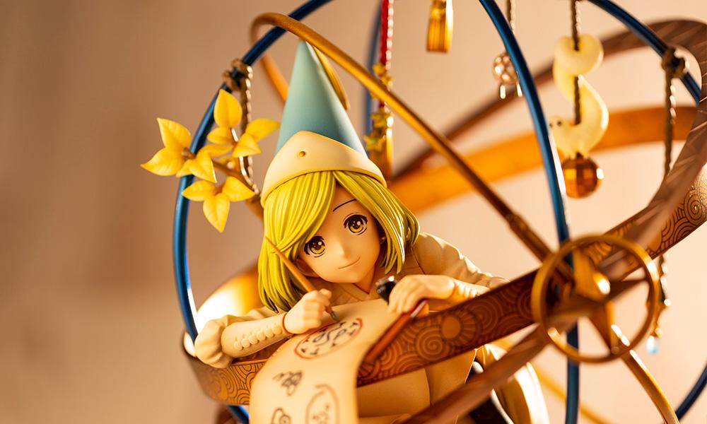 Kotobukiya lança figura da Coco, protagonista de Atelier of Witch Hat