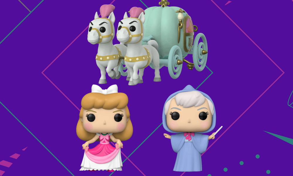 Cinderela   Personagens da Disney ganharão novas versões Funko Pop!