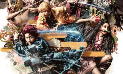 Demon Slayer Stage Play ganha novo poster com todo o elenco reunido