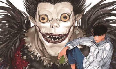 Death Note   Novo mangá one-shot tem primeira arte oficial revelada