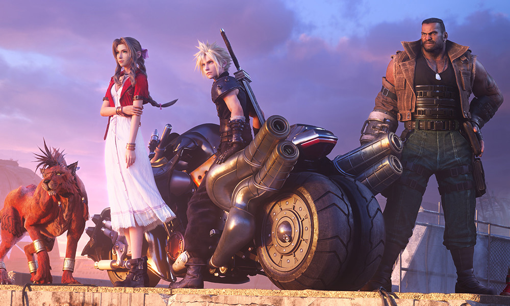 Final Fantasy VII Remake ganha uma nova e belíssima imagem promocional