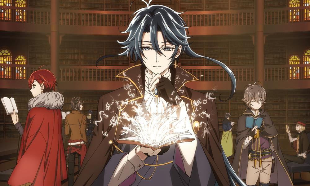 Bungou to Alchemist   Primeiras imagens do anime são reveladas