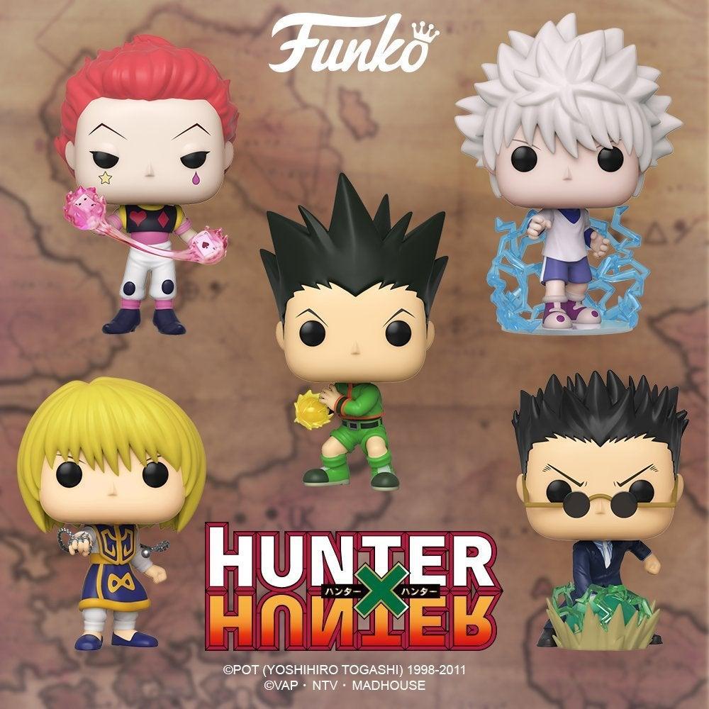 Funko anuncia primeiras figuras POP! de Hunter x Hunter