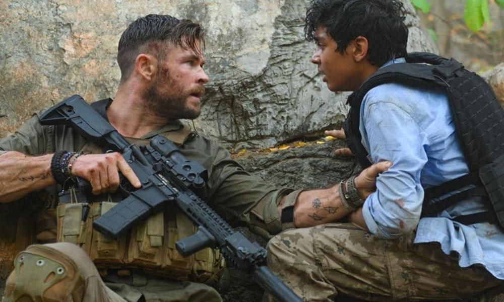 Resgate | Filme da Netflix com Chris Hemsworth ganha pôster