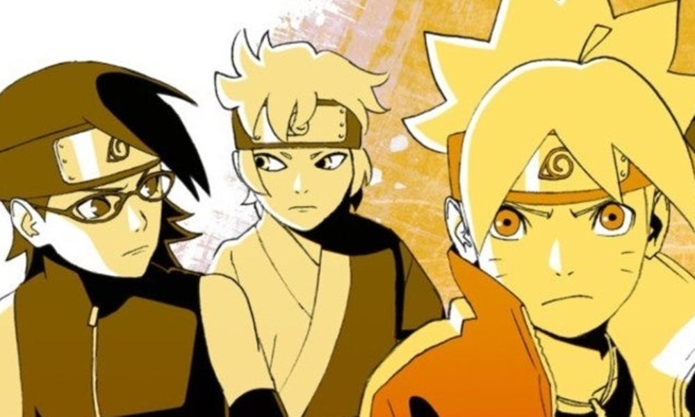 Boruto | Novos vilões aparecem no pôster do anime