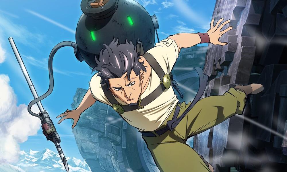 Deca-Dence | Anime original ganha novo poster promocional