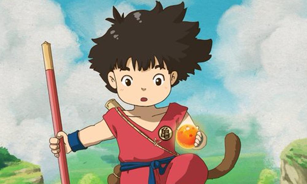 Dragon Ball ganha poster reimaginado no estilo Studio Ghibli