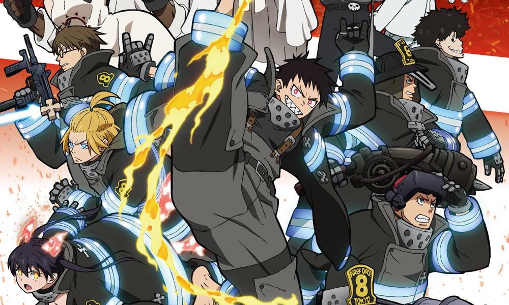 Fire Force   Design dos novos personagens da 2ª temporada são revelados