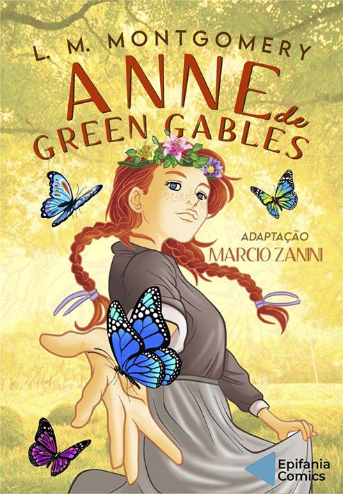 Graphic Novel de Anne With An 'E' é lançada no Brasil