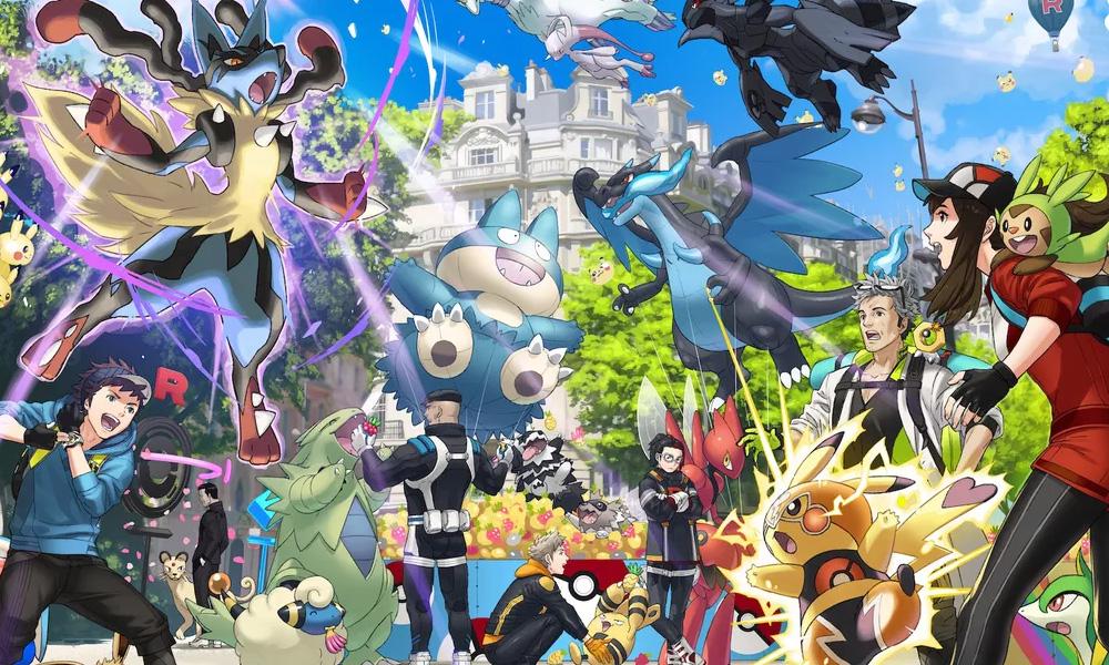 Pokémon Go   Iniciais da 6ª geração aparecem em imagem promocional