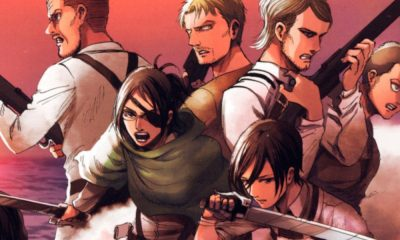 Attack on Titan | Arte da capa do volume 32 é revelada
