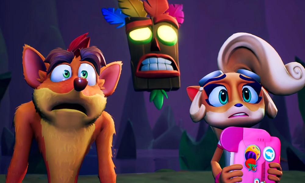 Crash Bandicoot 4: It's About Time ganha novo trailer focado em gameplay