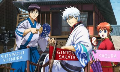 Último filme anime de Gintama ganha teaser e data de estreia