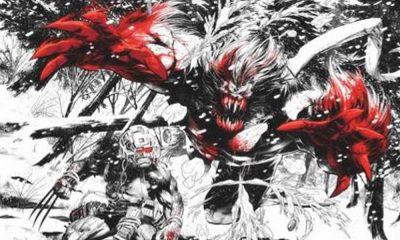 Wolverine aparece em preto, branco e vermelho em nova HQ da Marvel