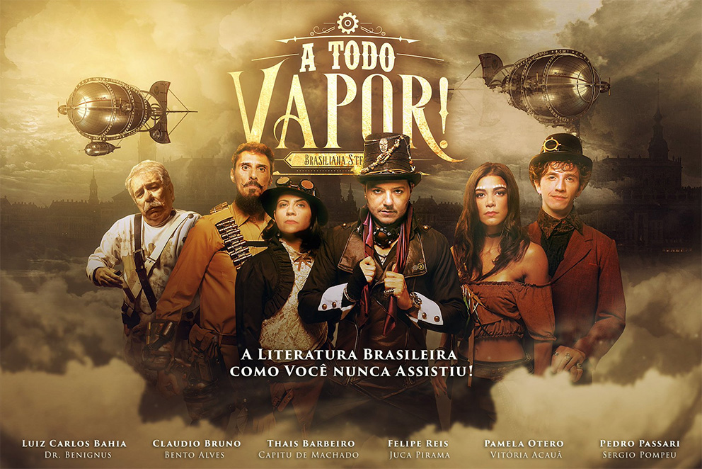 A Todo Vapor! | Série steampunk brasileira estreará na Amazon Prime Video