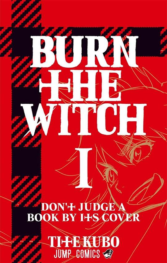Burn The Witch   Revelada arte da capa do volume 1 do mangá