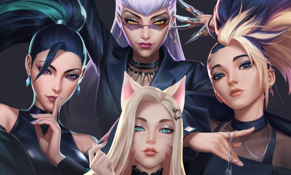 Novas músicas do grupo K/DA- Imagem: Riot Games
