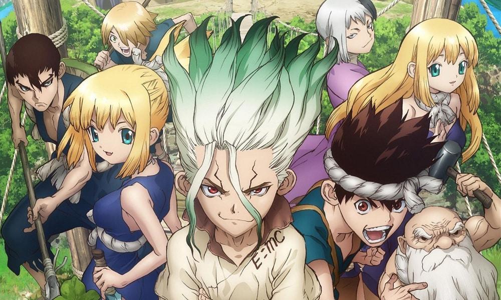 Anime Dr. Stone ganhará dublagem brasileira para o Toonami