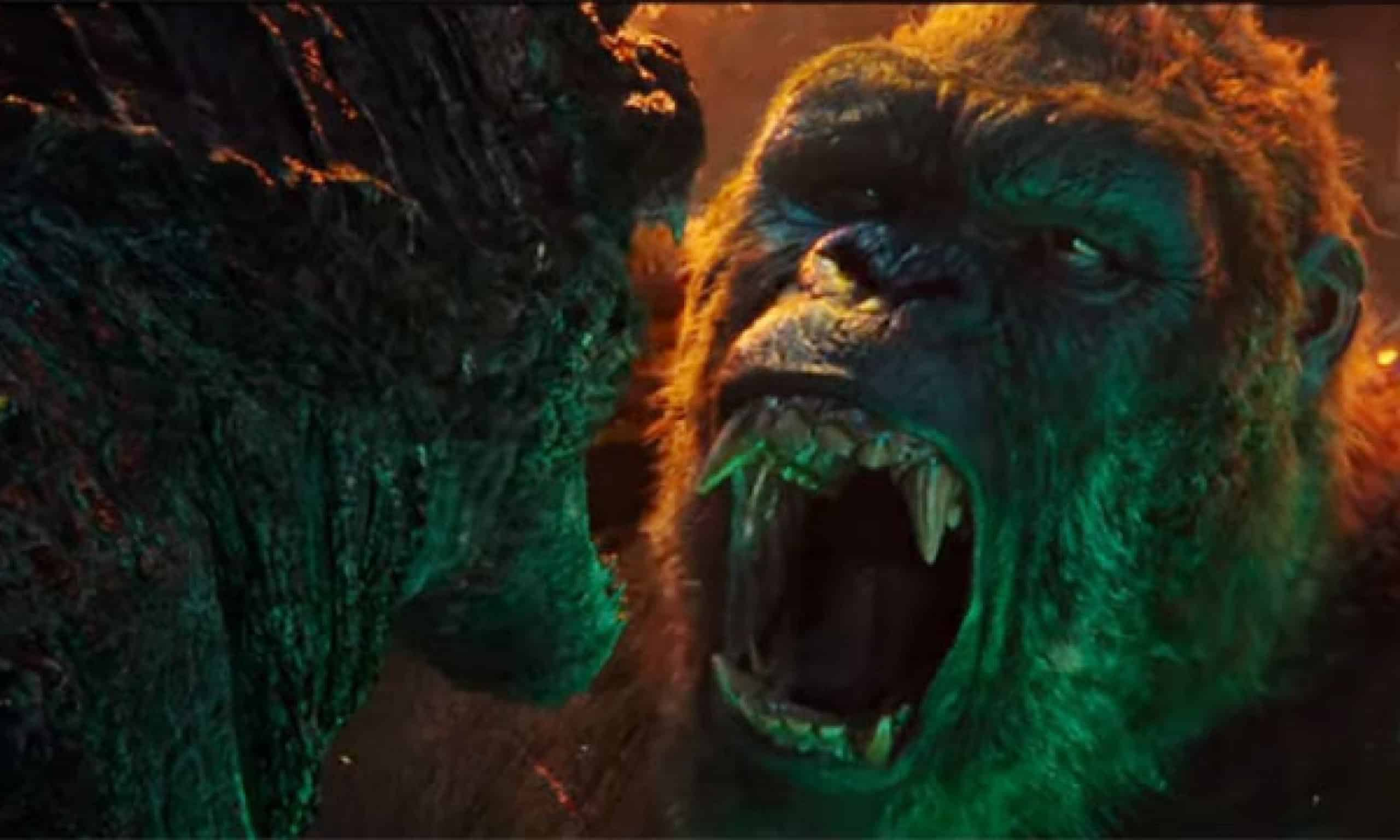 Godzilla vs Kong   King Kong e Godzilla ficam cara a cara em novo trailer
