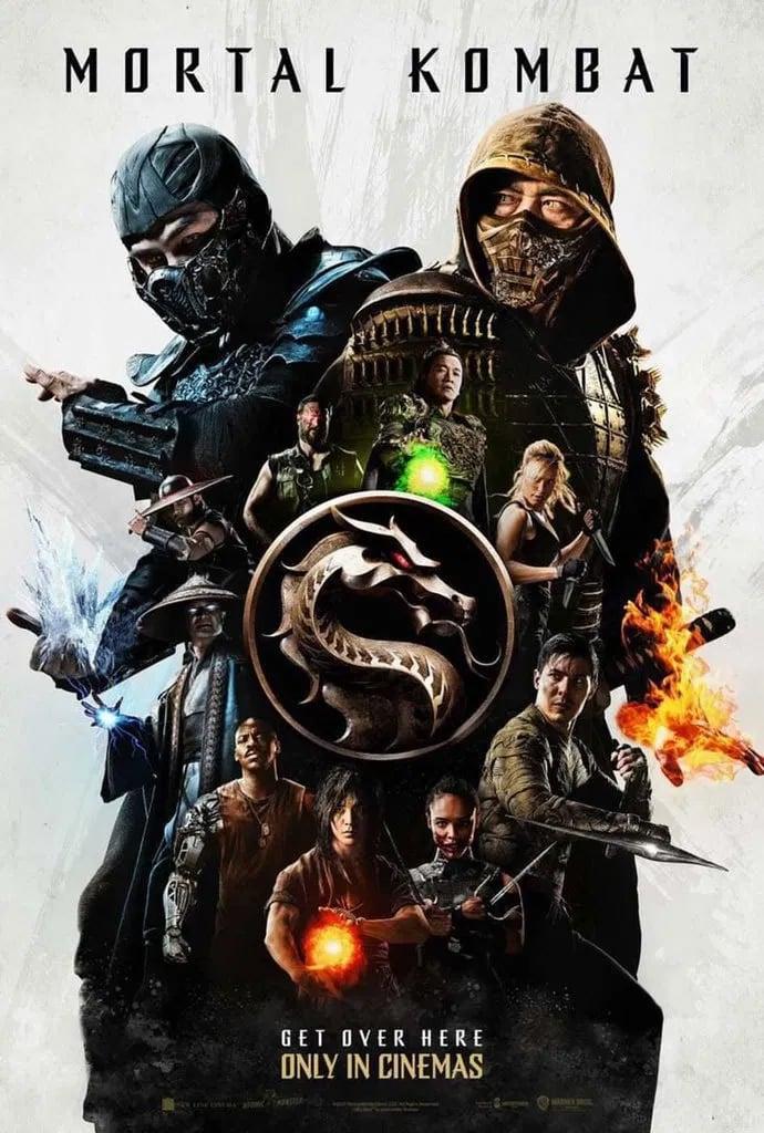 Novo filme de Mortal Kombat ganha poster internacional